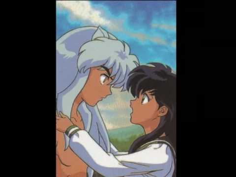 Sango kissing kagome and has sex