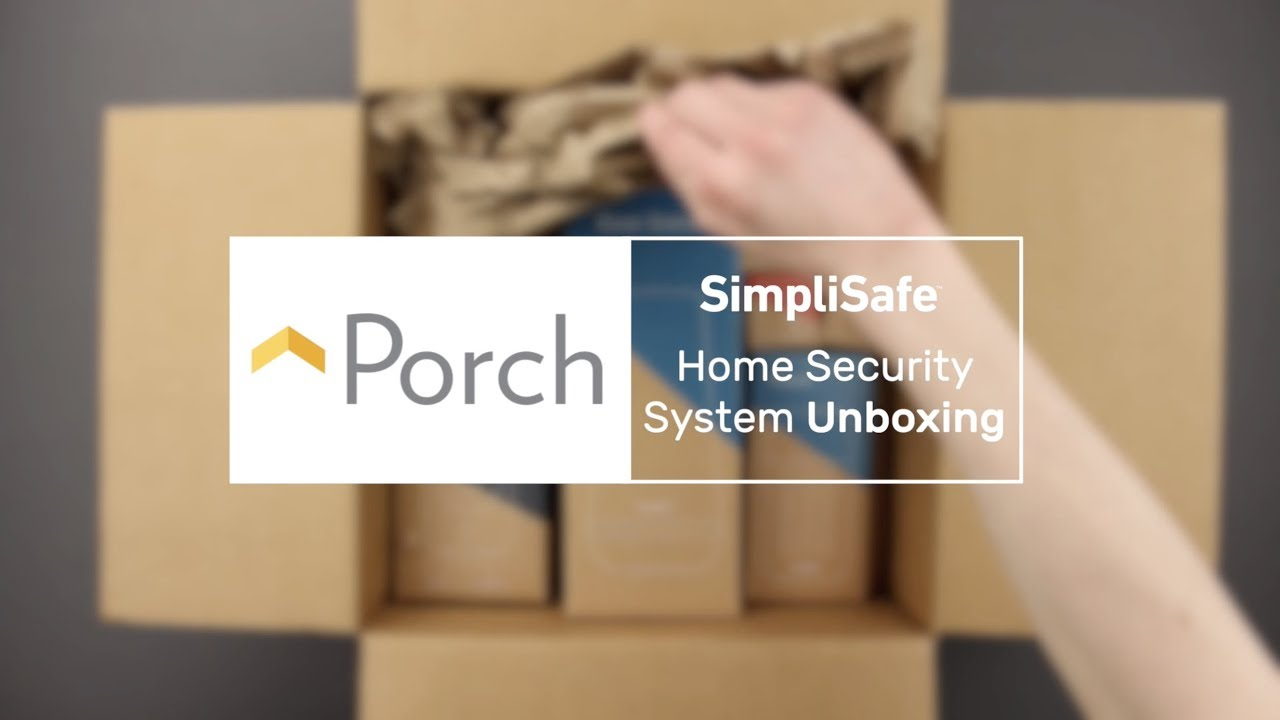 Unboxing: SimpliSafe Home Security System - Porch
