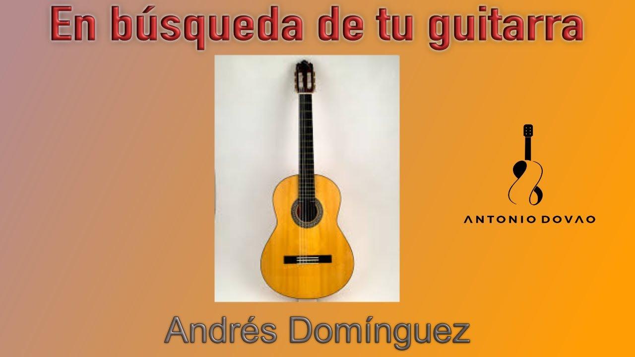 En Búsqueda de tu Guitarra. ANDRÉS DOMÍNGUEZ