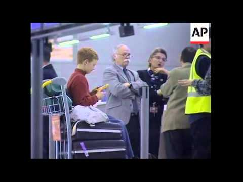 Air France flights to to LA cancelled - passenger reaction