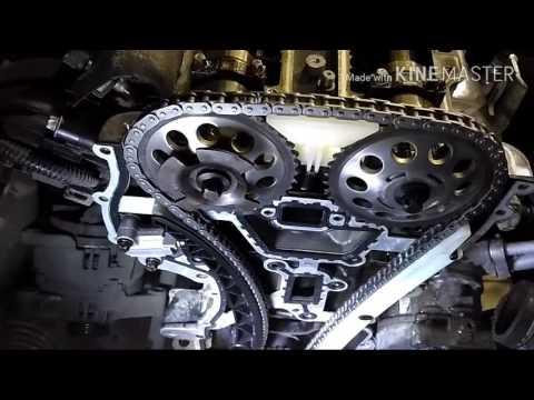 Фото к видео: Замена цепи ГРМ Opel Corsa D 1.2