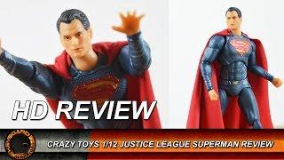 Crazy Toys 1/12 Justice League Superman Review