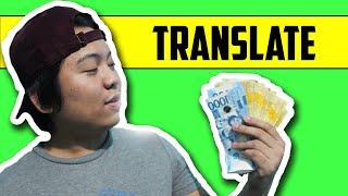 Kumita ng $1,475 TRANSLATE ka lang!