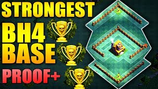 STRONGEST Builder Hall 4 Base w/PROOF / BH4 NEW ANTI 1 STAR CoC Builder Base | Clash of Clans