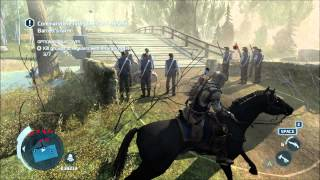 Assasins Creed 3 Tutorial: Holding The Firing Line (The Battle of Lexington and Concord)