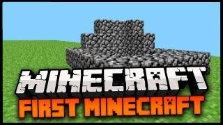 Minecraft: FIRST EVER MINECRAFT VERSION! - EARLY MINECRAFT ALPHA!