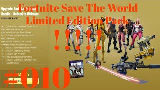 Fortnite Save The World Limited Edition Pack - Nocturnal!!!