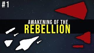 star Wars EaW FoC Awakening of the Rebellion mod Серия #1 Тяжелые времена для Империи
