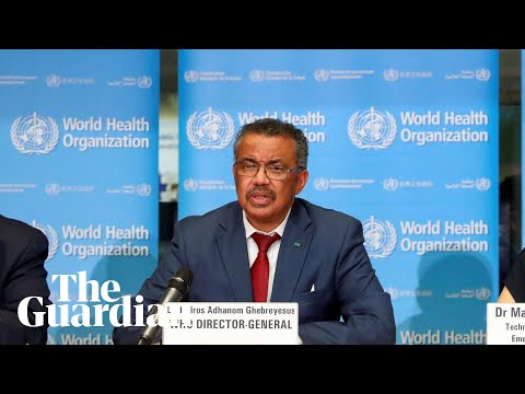 Coronavirus: WHO hold news conference on Covid-19 outbreak – watch live