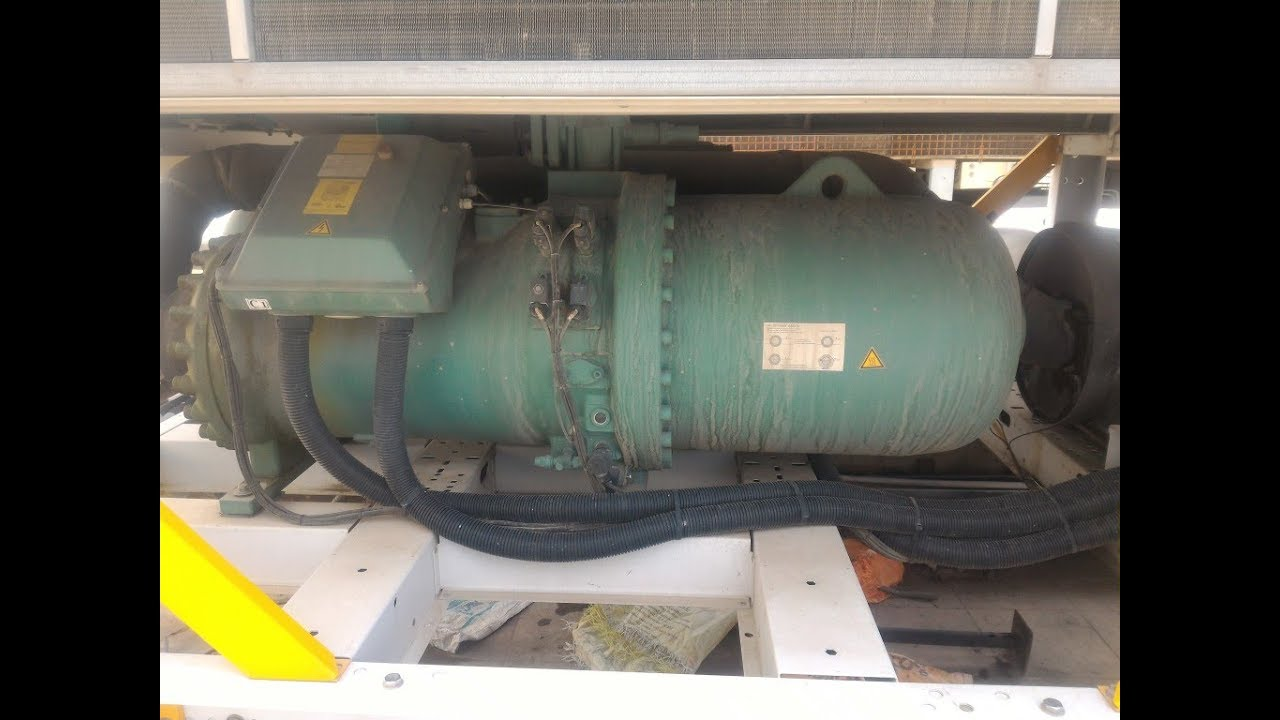 Screw Compressor In Air Cooled Amp Water Cooled Chillers