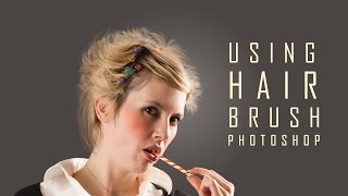 Using Hair Brush in Photoshop Part2