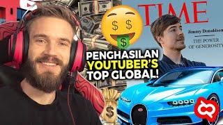 Download Mp3 THE REAL SULTAN YOUTUBE Inilah Bocoran Pendapatan Youtuber Terbanyak Di Dunia Ada Bocah SD