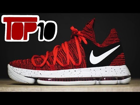 Top 10 Nike KD 10 Shoes Of 2018