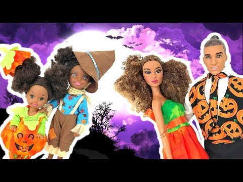 Thumbnail: Barbie Kids Costume Runway Show + Halloween Decorating | Naiah and Elli Doll Show