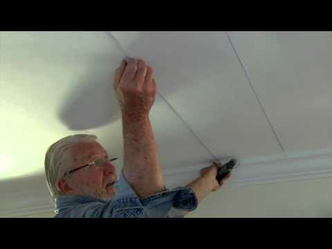 how-to-install-embossed-ceiling-tiles