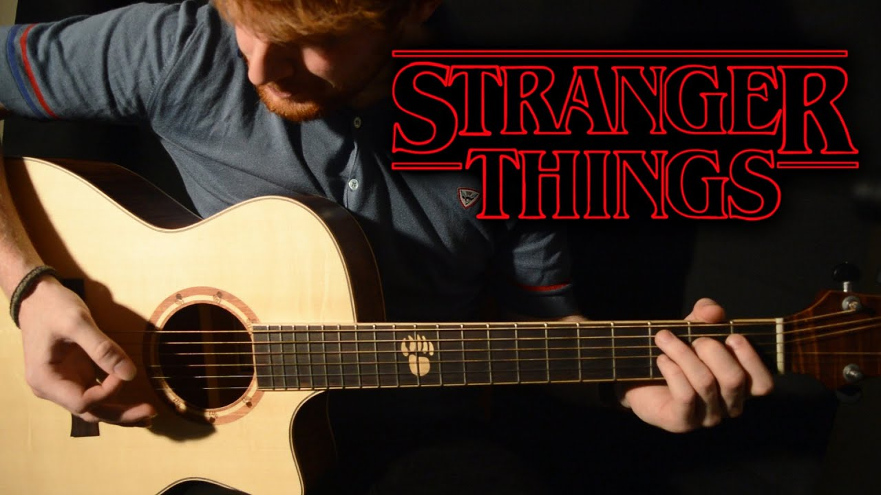 How To Play Stranger Things Main Theme Guitar Tutorial By
