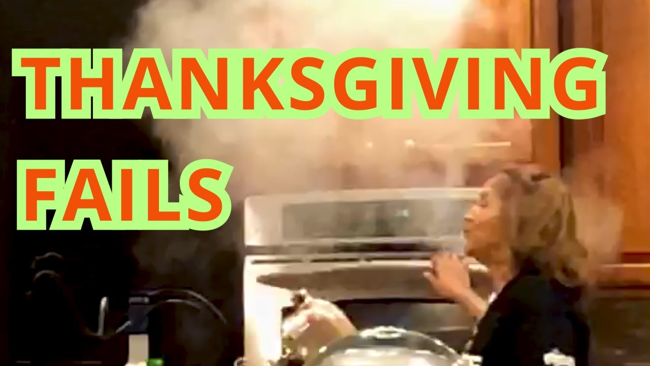 Thanksgiving Fails || Funny Videos