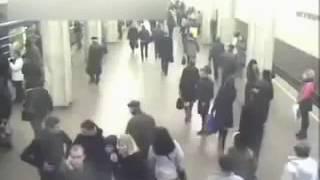 Взрыв в метро первые кадры теракт