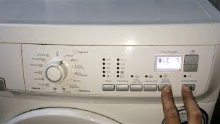 Diagnostico-Reset lavadora Electrolux (EWF 12480 W).[Test washing machine].(En estos modelos de lavadoras (Electrolux EWF 12480 W ) tenemos la posibilidad de realizar un diagnostico para que la lavadora compruebe uno a uno todos ..., 2014-08-10T14:25:33.000Z)