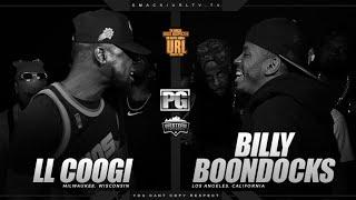 LL COOGI VS BILLY BOONDOCKS   URLTV