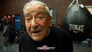 BOB ARUM READY TO MAKE SPENCE VS CRAWFORD