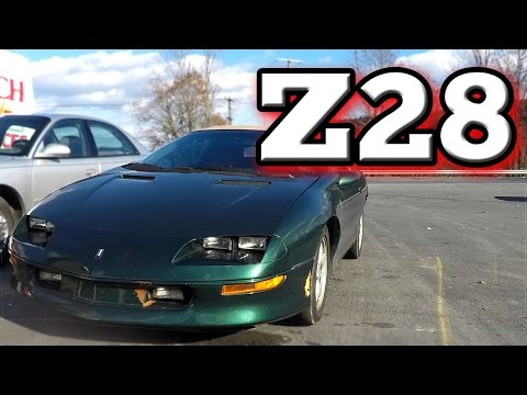 POV Drive: 1995 Chevrolet Camaro Z28