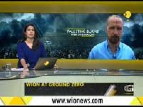 Wion's Daniele Pagani hit with rubber bullet at ground zero in Gaza