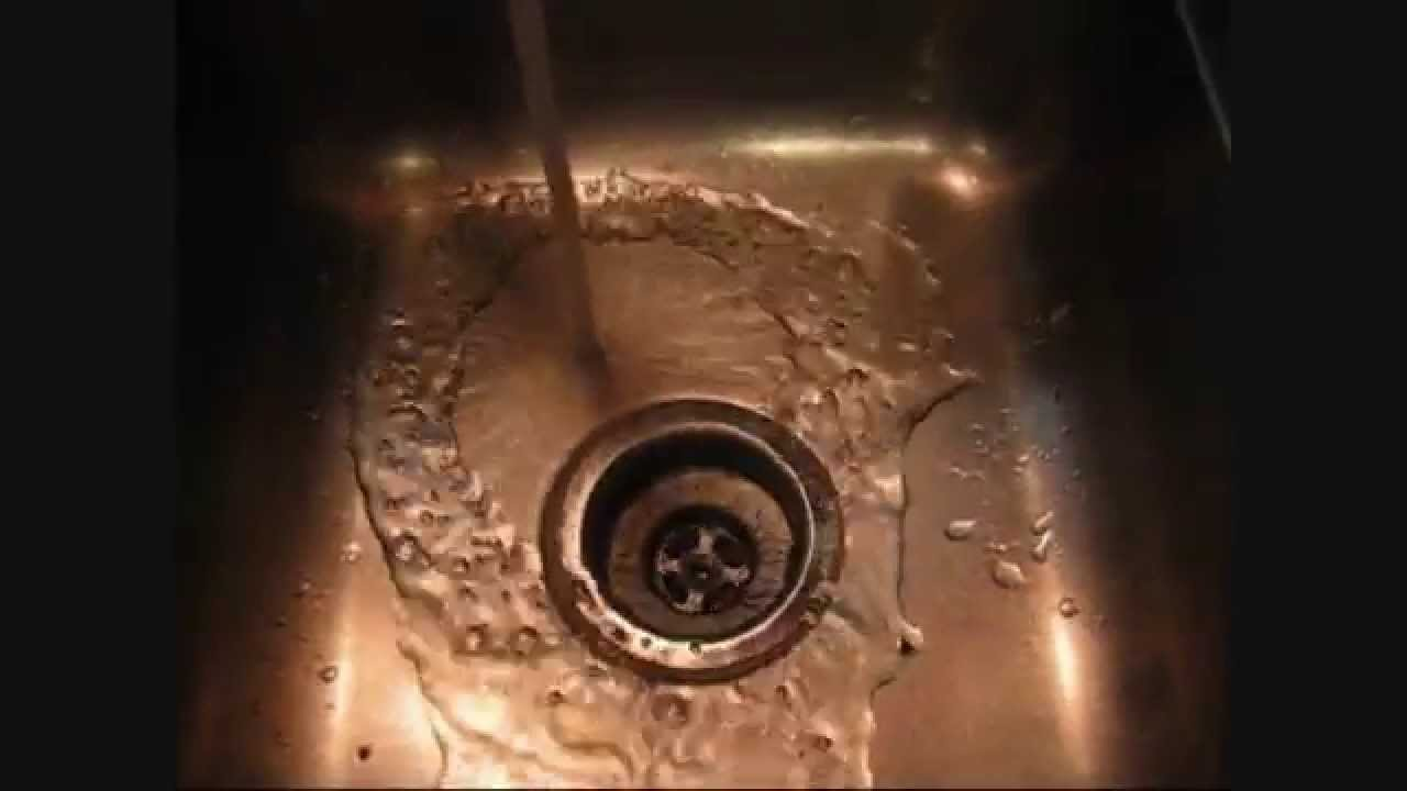 Easy Tip For Removing Kitchen Sink Drain Youtube