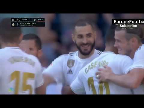 VIDEO Resumen Goles Real Madrid vs Granada CF (4-2)