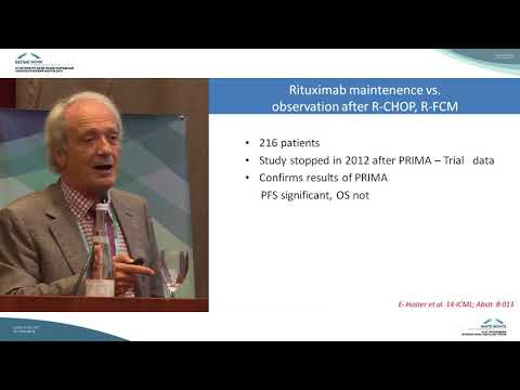 What is new in indolent lymphomas after ICML?