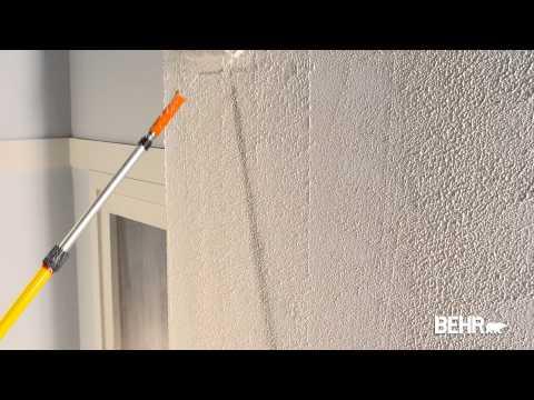 R paration fissures mur crepi ext rieure doovi for Peinture behr exterieur