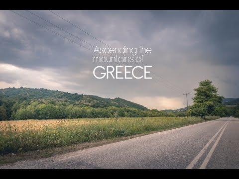 Road trip and hike to the Greek mountains