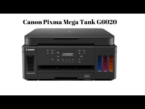 CANON PIXMA MEGA TANK G6020 Unboxing, Setup & Review