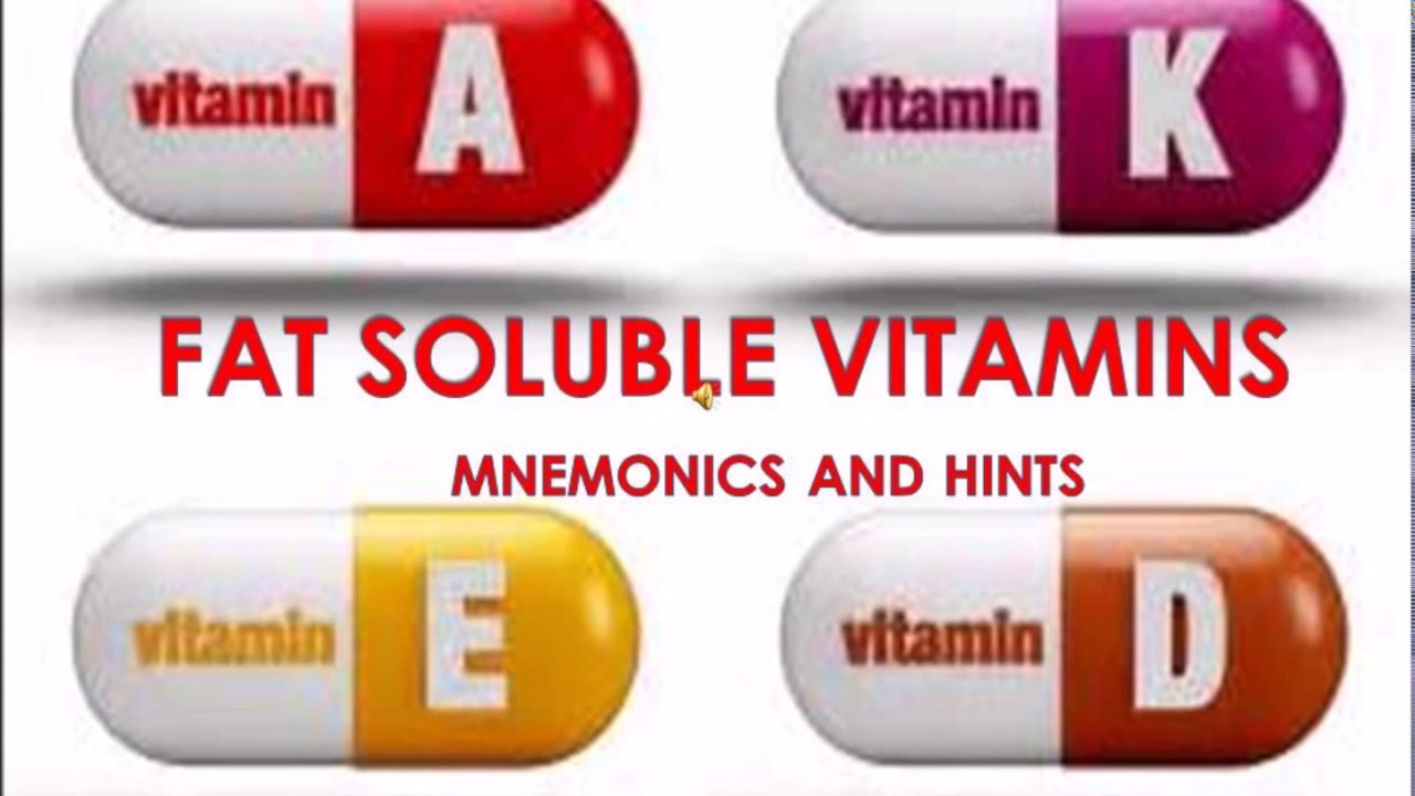 The most beneficial fat soluble vitamins 91