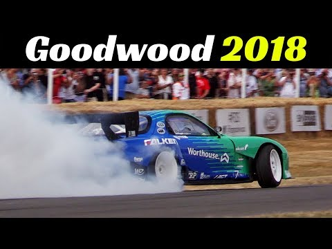 2018 Goodwood Festival of Speed - Day 1 Highlights - Supercars Madness, F1, Rally cars, Drift & More