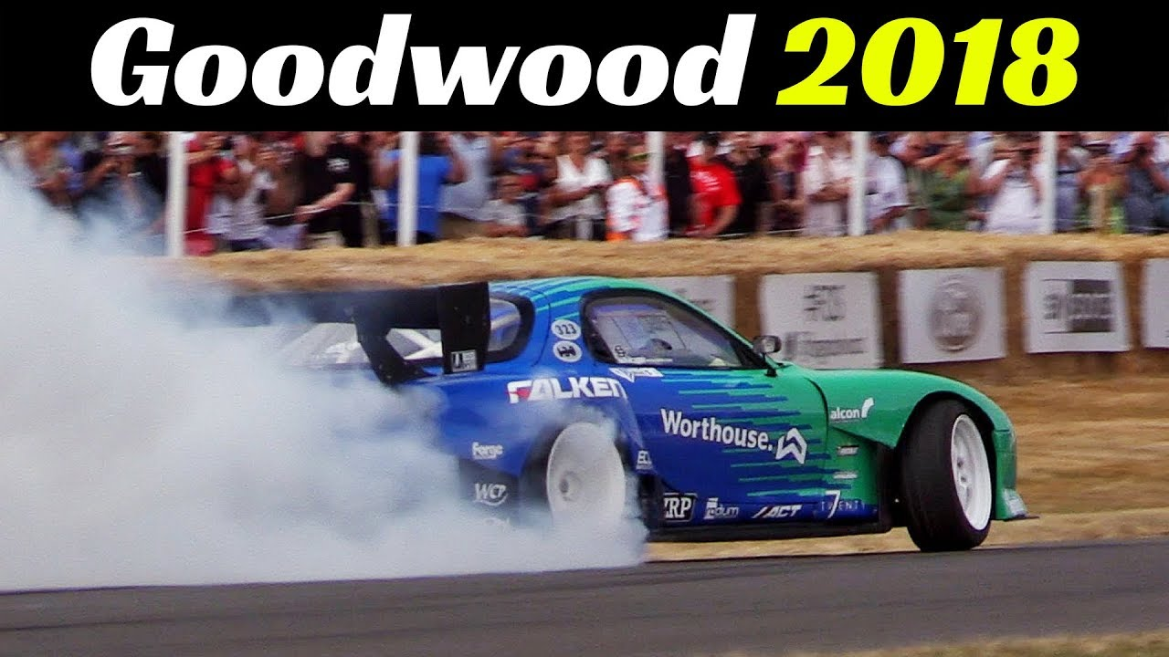 Top 10 Cars From Goodwood Festival of Speed 2018