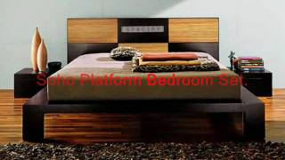 Free Shipping On King And Queen Size Platform Beds. Buy Modern Bed Online.