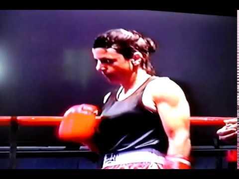 Hollywood Park Casino Boxing Susan Howard vs Fredia Gibbs HOLLYWOOD BOXING GYM