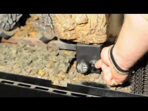 How To Light Monessen Duzy Vented Gas Logs