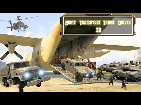 Army Transport Truck Driver 3D (by stepinn pub) Android Gameplay [HD]