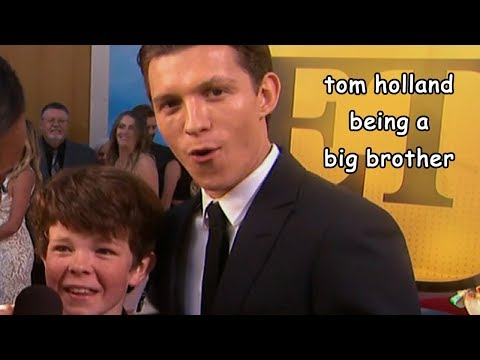 tom holland being