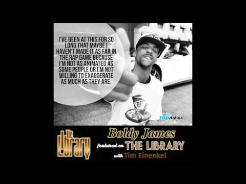 The Library: Boldy James Interview