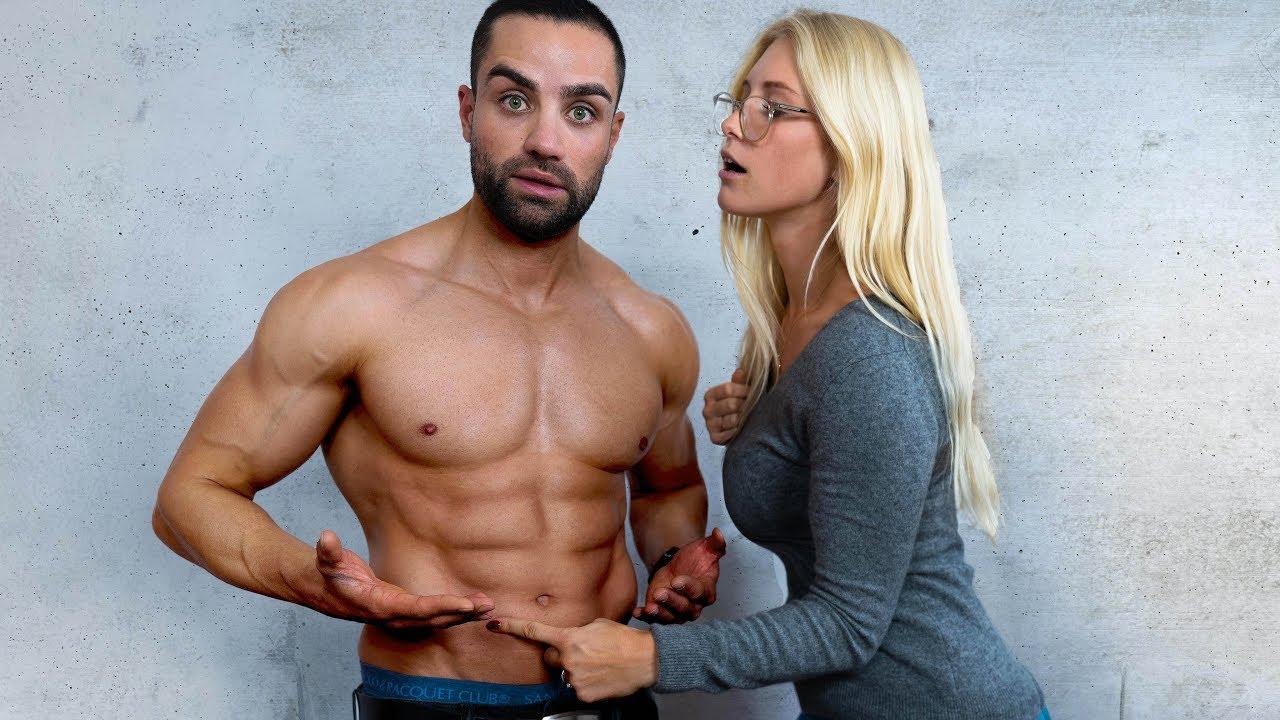 Der Muskel auf den alle FRAUEN stehen - YouTube