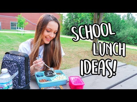 Easy and Healthy Lunch Ideas for Back To School!
