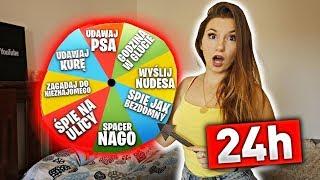 MYSTERY WHEEL KONTROLUJE ZYCIE LUURE przez 24H CHALLENGE ! * wysłaliśmy nudesa *