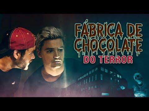 EXPLORAMOS A FÁBRICA DE CHOCOLATES ASSOMBRADA - A VOLTA DOS IRMÃOS NETO