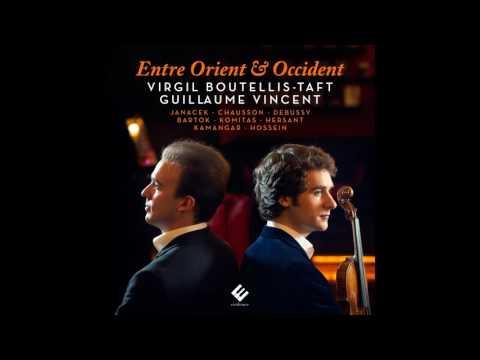 Chausson: Poème | Virgil Boutellis-Taft (violin), Guillaume Vincent (piano)