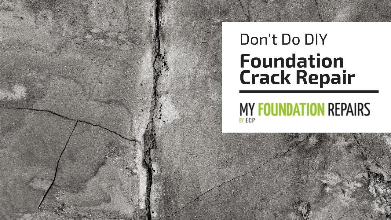 repair concrete foundation cracks