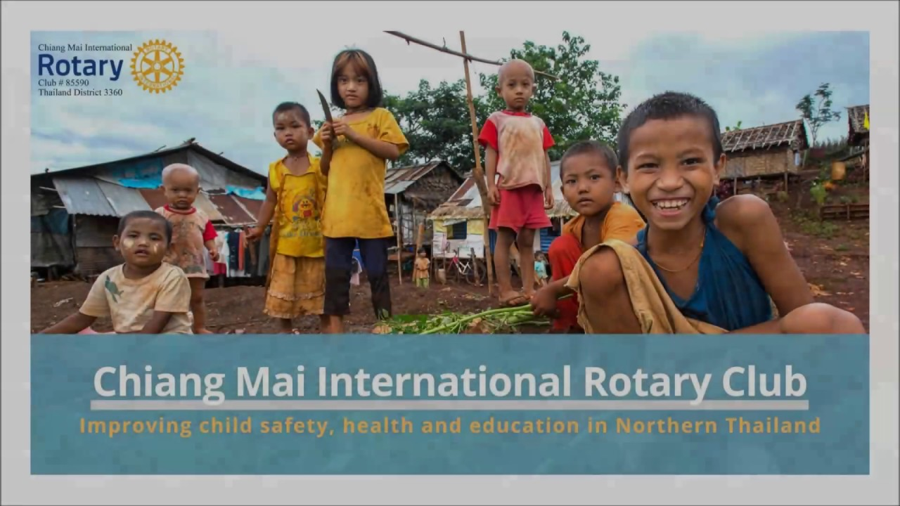 Chiang Mai International Rotary Club Project Portfolio