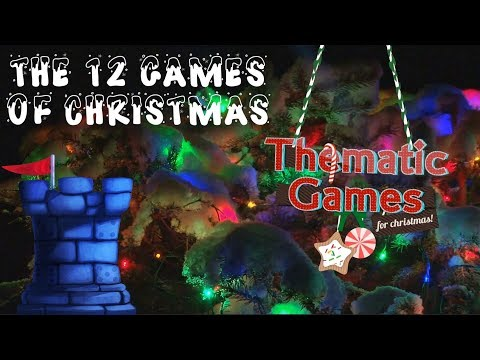 The 12 Games of Christmas: Thematic Games